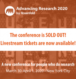 No travel required; livestream conference tickets are now available!