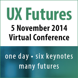UX futures banner