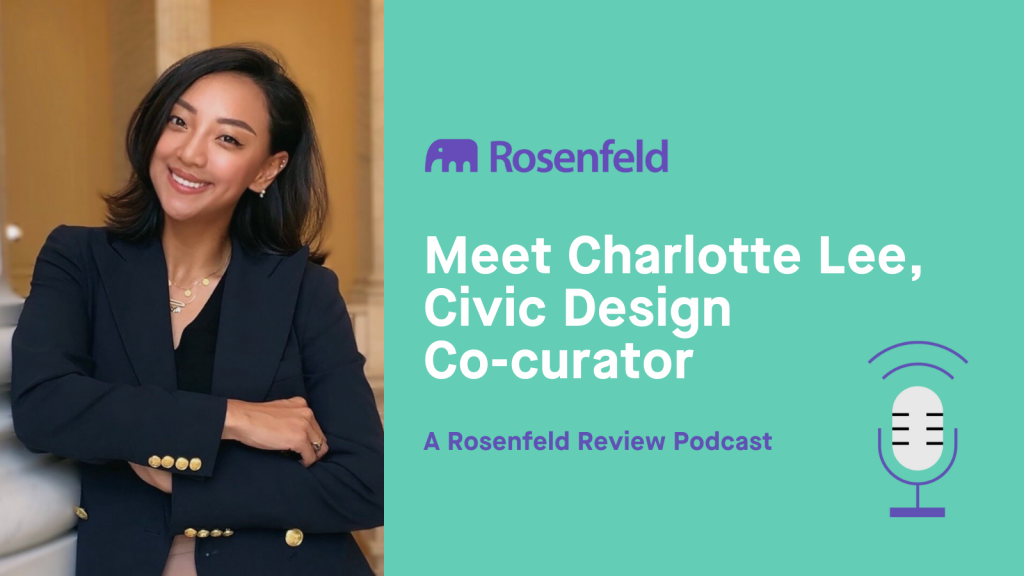 Meet Charlotte Lee, Civic Design Co-curator