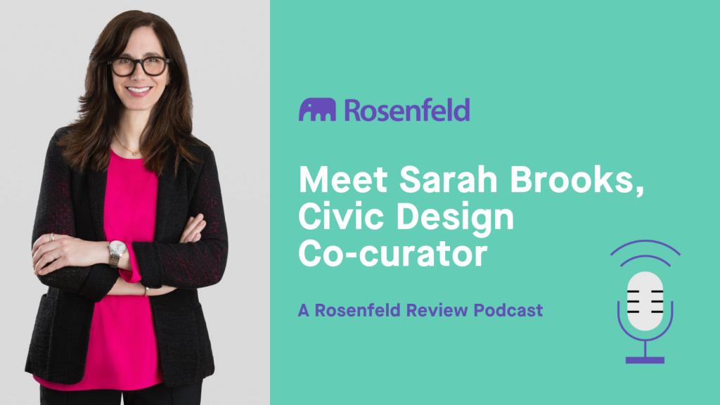 Meet Sarah Brooks, Civic Design Co-curator