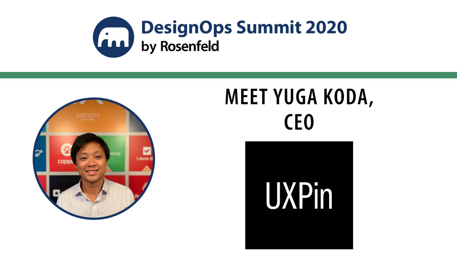 Meet Yuga Koda, CEO