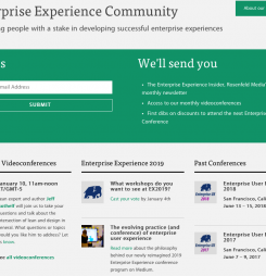 More than a Conference: Join our Enterprise Experience Community