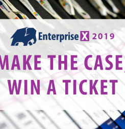 Enterprise Experience: make the case, win a ticket!