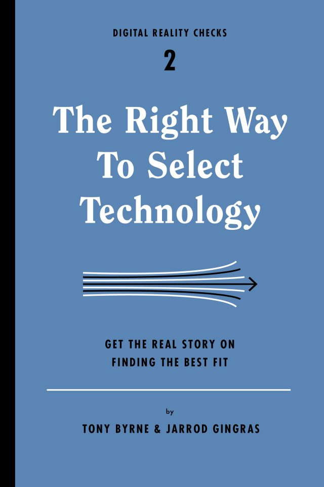 right way to select technology cover