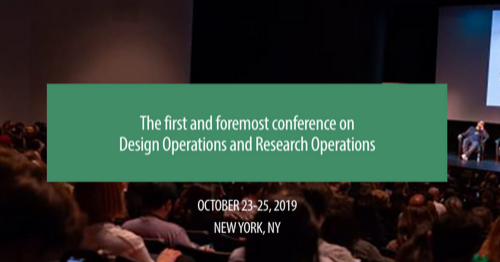 Conference – DesignOps Summit 2019