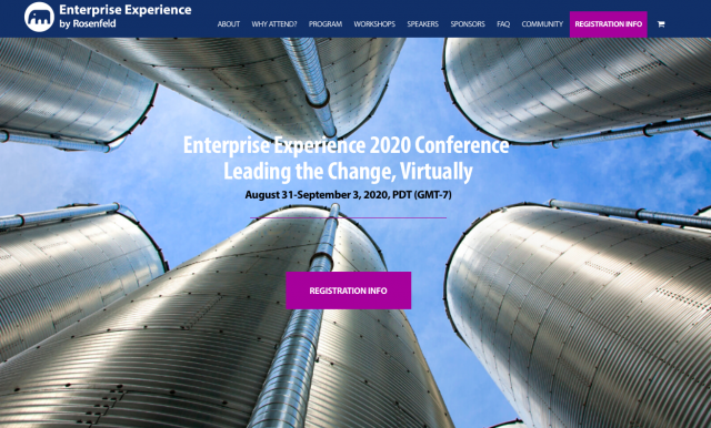 Virtual Conference – Enterprise Experience 2020