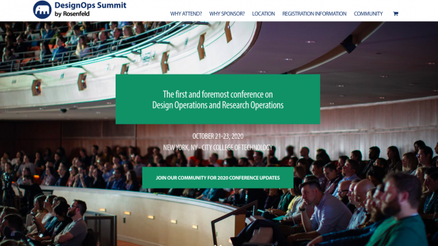 Conference – DesignOps Summit 2020
