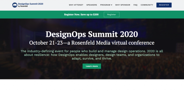 Virtual Conference – DesignOps Summit 2020