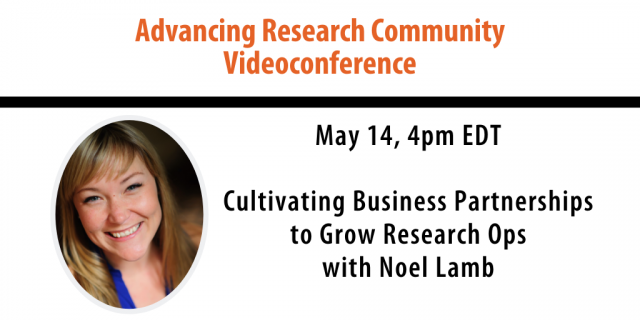Videoconference May 14, 4pm EDT
