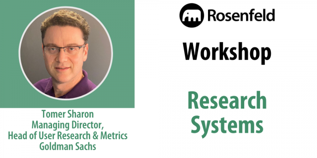 Workshop — Research Systems
