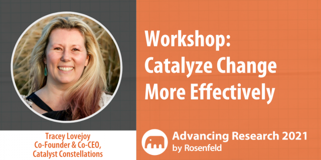 Catalyze Change More Effectively