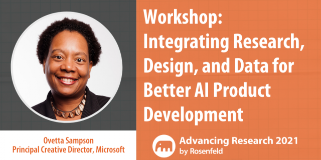 Integrating Research, Design, and Data for Better AI Product Development