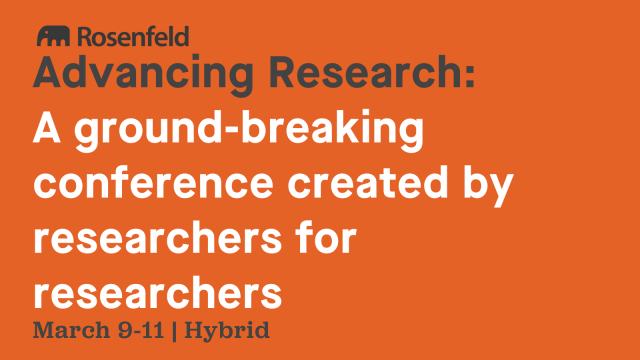 Conference: Advancing Research 2022