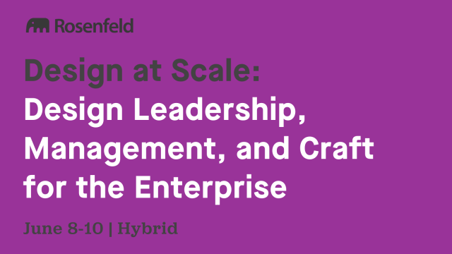 Conference: Design at Scale 2022